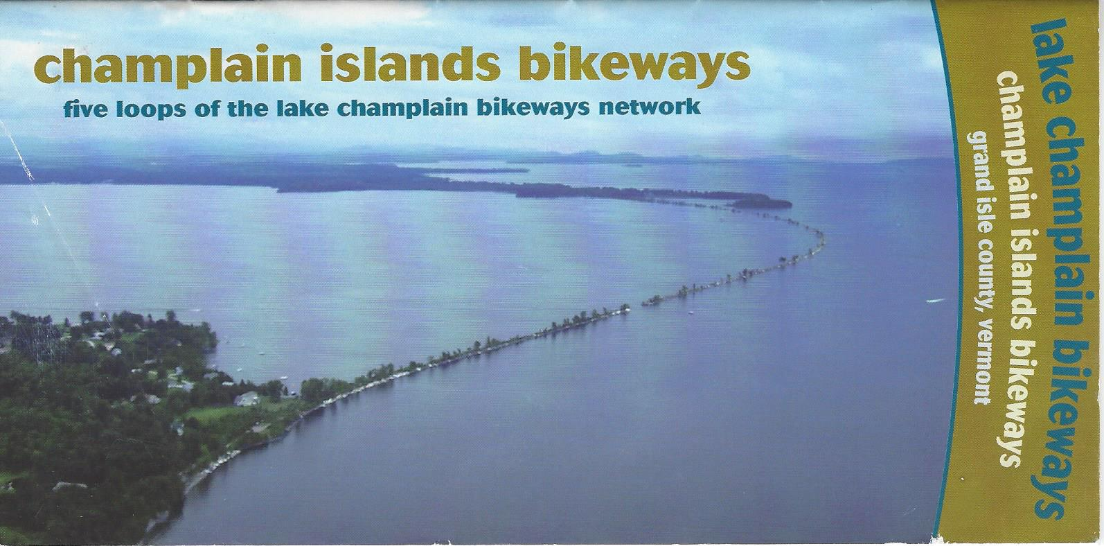 5 loops Cycle the Islands of Lake Champlain
